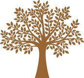 Tree. The tree is vector illustration Stock Image