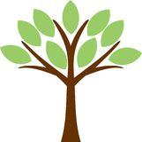 Tree. The tree is vector illustration Stock Photos