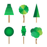Tree vector illustration Royalty Free Stock Images