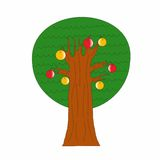 Tree With Apples Royalty Free Stock Photography