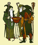 Tree wizards Royalty Free Stock Image
