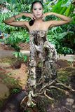 Tree woman Stock Photo