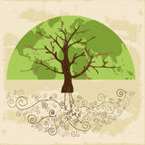 Tree world concept Royalty Free Stock Photos