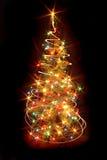 tree xmas Στοκ εικόνα με δικαίωμα ελεύθερης χρήσης