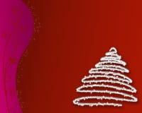 tree2 Χριστούγεννα Στοκ Εικόνες