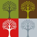 Tree2. Vector illustration of a tree Royalty Free Stock Photography