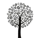 Tree5. Vector illustration of a tree. easy to change color Stock Photography