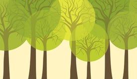Treebakgrund Royaltyfria Foton