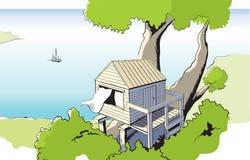 Treehouse Arkivfoton