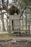 Treehouse Arkivfoto