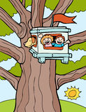 Treehouse Stock Images
