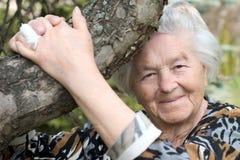 treekvinna Royaltyfria Foton