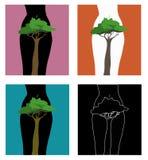 Treelife Foto de archivo libre de regalías