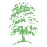 Tree abstrakt begrepp Royaltyfri Foto