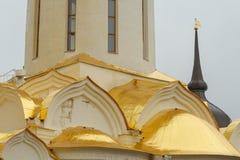 Treenighet Lavra av St Sergius Sergiev Posad, Ryssland arkivfoto