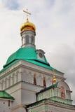 Treenighet Sergius Lavra i Ryssland Fotografering för Bildbyråer