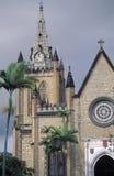 Treenighetdomkyrka, port - av - Spanien, Trinidad Arkivbilder