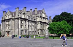 Treenighethögskola Dublin Royaltyfri Fotografi