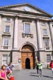 Treenighethögskola Dublin Royaltyfri Foto