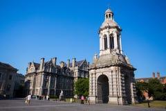 Treenighethögskola, Dublin Arkivfoto