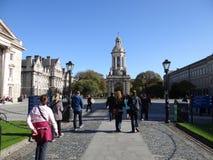 Treenighethögskolauniversitetsområde Dublin Arkivbild