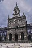Treenighetkyrka i Porto Arkivfoto