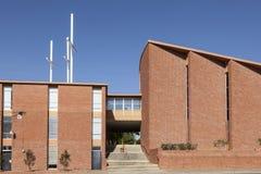 TreenighetLutherankyrka i Fort Worth, TX, USA Arkivfoton
