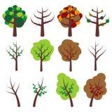 Trees_01 stock illustratie