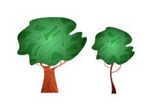 trees royaltyfri illustrationer