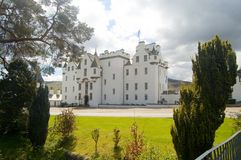 Between the trees. A portrait of blair castle Stock Photos