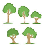 Trees royalty free illustration