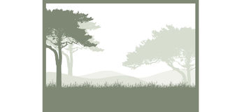 Trees Background Royalty Free Stock Images