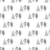 Trees in the background pattern Stock Photography