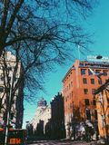 Landmark in Oslo stock image