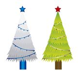 Trees christmas Stock Photography