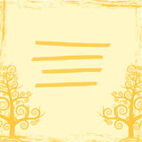 Trees cover abstraction  EPS 10. Trees cover abstraction card or cover Royalty Free Stock Photos