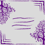 Trees cover abstraction  EPS 10. Trees cover abstraction  card or cover Royalty Free Stock Photo