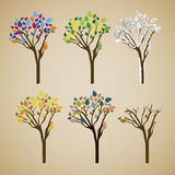 Trees design Stock Photo