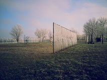 Trees on Field Near Fence during Daytime Stock Photography