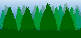 Trees Forest background,pine tree illustration. Trees Forest background,pine tree illustration royalty free stock image royalty free illustration