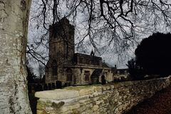 Bledington Church royalty free stock images