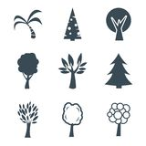 Trees icon Stock Photo