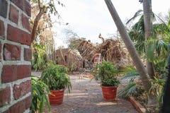 Key West Garden Club West Martello Tower royalty free stock photos