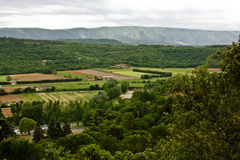 Landscape View of Provence Stock Image