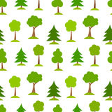 Trees pattern Royalty Free Stock Photo