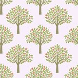 Trees pattern Stock Photos