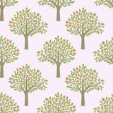 Trees pattern Stock Photos