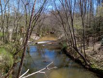 Reflections on Big Elkin Creek