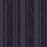 Trees seamless pattern Royalty Free Stock Photography