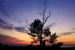 Lake Erie Sunset Royalty Free Stock Photos